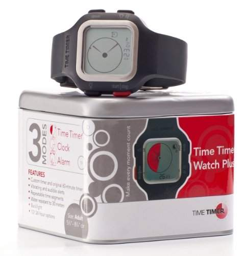Time Timer Armbanduhr Erwachsene Dunkelgrau  Anthrazit