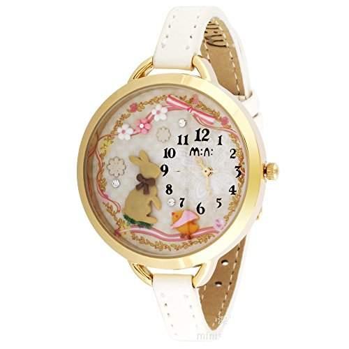 ufengke® mini-cartoon-mode-polymer-ton armbanduhren fuer damefrauenmaedchen-kaninchen-thema