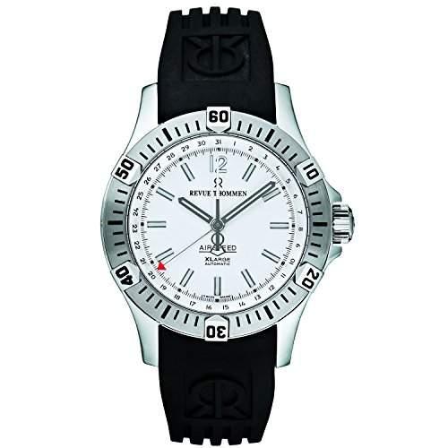 Revue Thommen Pioneer XL Analog White Dial Mens Watch - 160702832