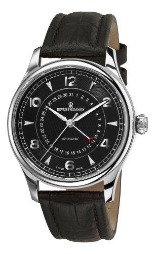 Revue Thommen Specialities 42mm Armband Leder Gehaeuse Edelstahl Automatik 10012 2537