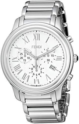Fendi Classico Herren 42mm Chronograph Saphirglas Datum Uhr F252014000