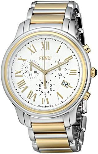 Fendi Classico Herren 42mm Chronograph Saphirglas Datum Uhr F252114000