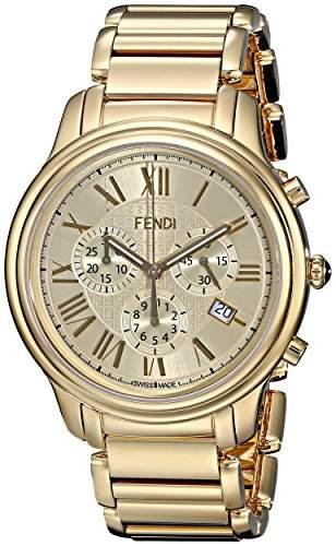 Fendi Classico Herren 42mm Chronograph Saphirglas Datum Uhr F252415000