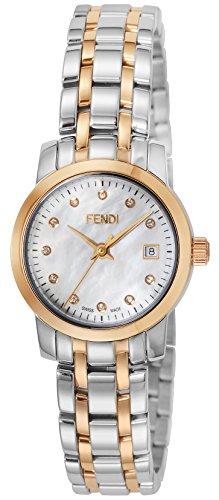Fendi Armbanduhr Rund Classico Diamant f217240d