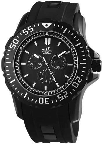 Shaghafi Herren-Armbanduhr XL Analog Quarz Kautschuk 227471000013