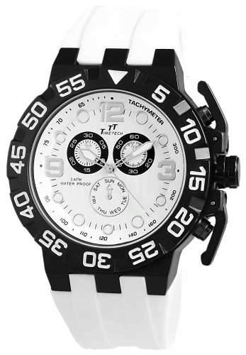 Shaghafi Herren-Armbanduhr XL Analog Quarz Kautschuk 227471100007