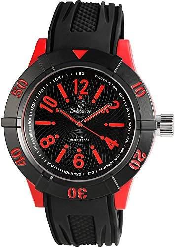 Shaghafi Herren-Armbanduhr XL Analog Quarz Kautschuk 227475000012