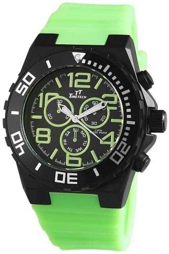 Shaghafi Herren-Armbanduhr XL Analog Quarz Kautschuk 227476500008