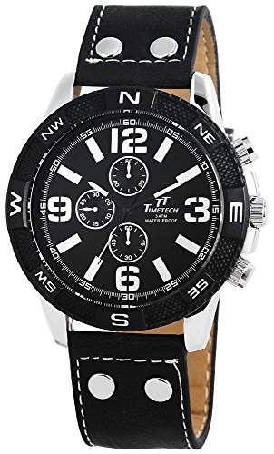 Shaghafi Herren-Armbanduhr XL Analog Quarz verschiedene Materialien 227421000018