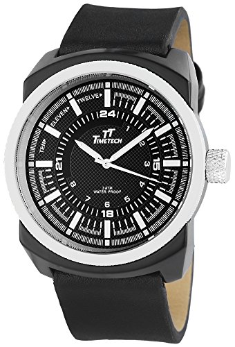 Shaghafi Herren Armbanduhr XL Analog Quarz verschiedene Materialien 227471000010