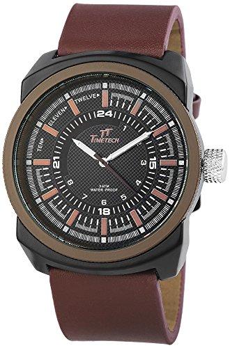 Shaghafi Herren Armbanduhr XL Analog Quarz verschiedene Materialien 227477000010
