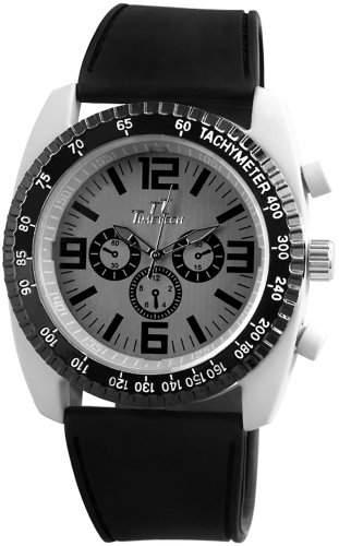 TimeTech Herren-Armbanduhr XL Analog Quarz verschiedene Materialien 227221500001