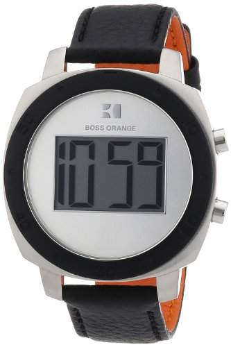 Boss Orange Damen-Armbanduhr Digital Quarz Leder 1502293