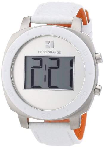 Boss Orange Damen-Armbanduhr Digital Quarz Leder 1502294
