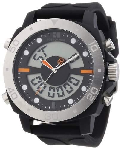 Boss Orange Herren-Armbanduhr Digital Silikon 1512678