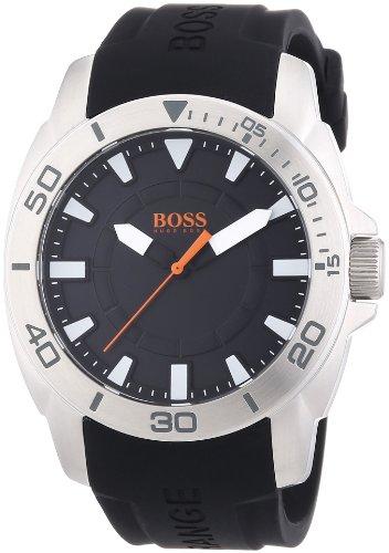 Boss Orange XL Big Day Analog Quarz Silikon 1512948