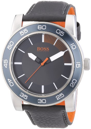Boss Orange XL Kick Off Analog Quarz Leder 1512862