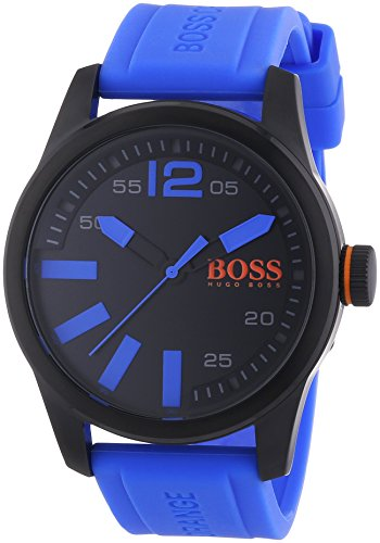 BOSS Orange XL Paris Analog Quarz Silikon 1513048