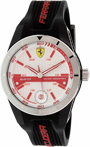 Ferrari Herren Rot REV 0830250 rot Edelstahl Quarzuhr