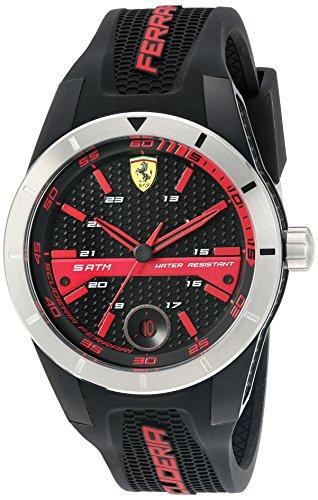 Ferrari Herren Analog Casual Quartz Reloj NWT 0830253