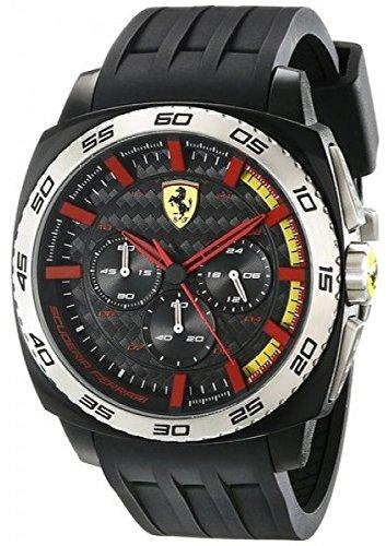 Ferrari AERODINAMICO Chrono Analog Quarz Silikon 0830202