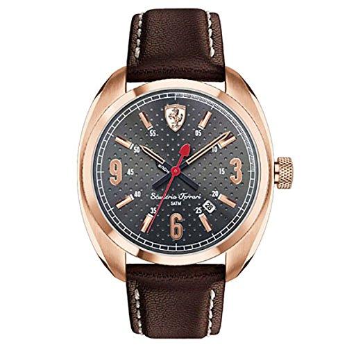 Ferrari Herren Scuderia Analog Dress Quartz Reloj 0830208