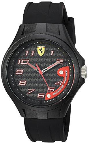 Ferrari Herren Scuderia Analog Casual Quartz Reloj 0830288
