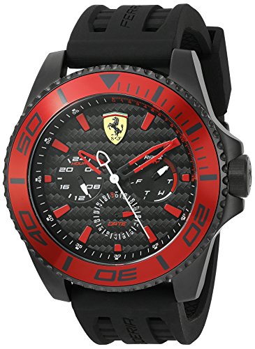 Ferrari Herren Scuderia Analog Dress Quartz Reloj 0830310