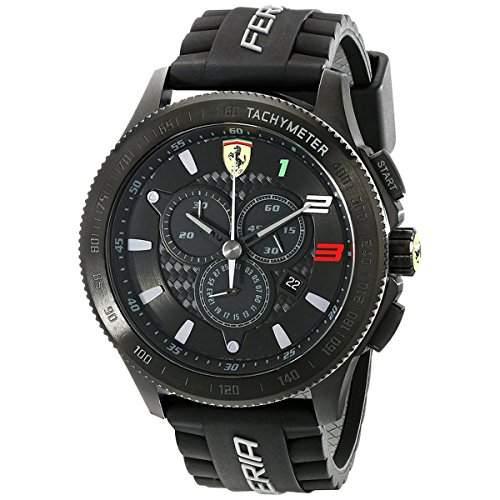 Ferrari Herren-Armbanduhr SCUDERIA XX Chrono Digital Quarz Silikon 0830243