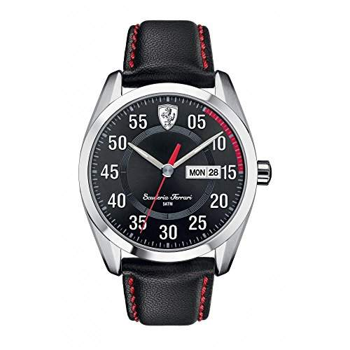 Scuderia Ferrari D 50 Mens Day & Date Watch 0830173