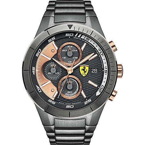 Ferrari Scuderia Herren Armbanduhr 0830304