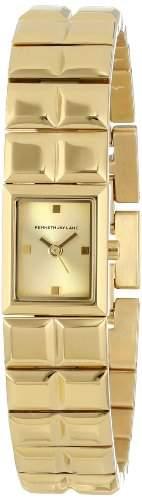 Kenneth Jay Lane Damen KJLANE-3201 3200 Series Analog Display Japanese Quartz Gold Armbanduhr