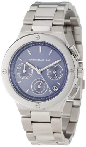 Kenneth Jay Lane Damen 2120 Chronograph BlueSteel Armbanduhr