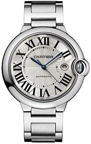 Cartier Ballon Bleu Herren Armbanduhr Stahl W69012Z4