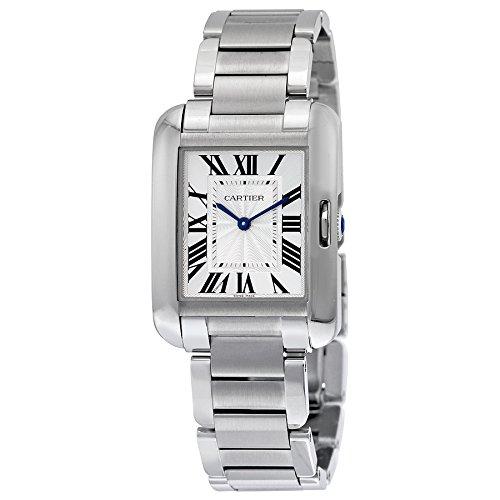 Cartier Armband Edelstahl Gehaeuse Automatik Zifferblatt Silber Analog W5310044
