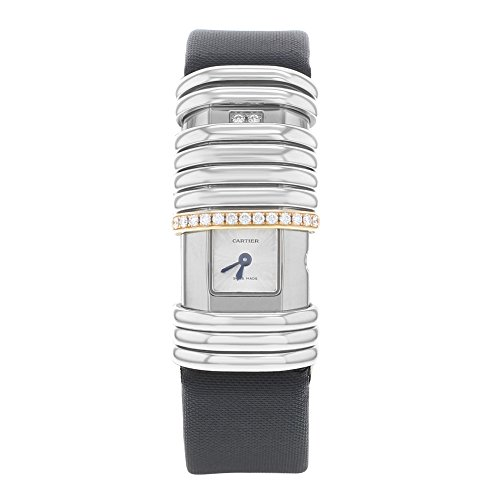 Cartier Erklaerung wt000830 18 K Rose Gold und Diamanten Quarz Damen Armbanduhr