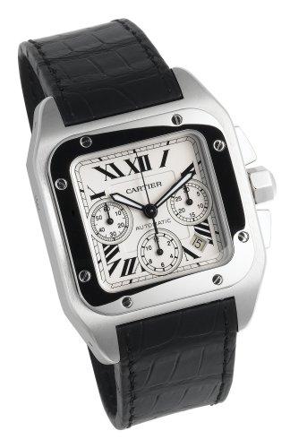 Cartier Herren W20090X8 Santos 100 XL Automatic Chronograph