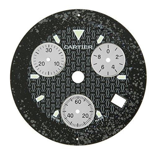 Cartier mx001lm0 30 mm fuer 38 mm Ligne 21 Herren Armbanduhr Zifferblatt fuer W10125U2 Armbanduhr