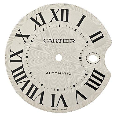 Cartier Ballon Bleu mx004516 Silber Zifferblatt fuer W69012Z4 w69016z4 Armbanduhr Modelle