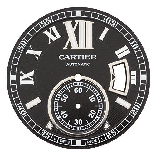 Cartier Kaliber mx006 W50 35 mm schwarz Zifferblatt fuer W7100016 W7100041 Armbanduhr Modelle