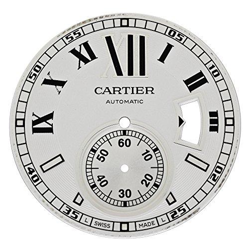 Cartier Kaliber mx006931 Silber Zifferblatt fuer W7100037 w7100015 Armbanduhr Modelle