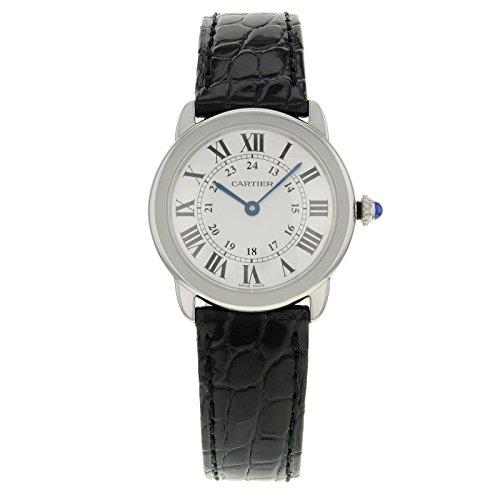 Cartier Ronde Solo W6700155 Edelstahl Quarz