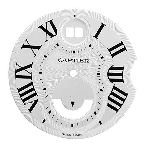 Cartier 31 mm Zifferblatt fuer 38 50 mm Ballon Bleu W6920011 Zwei Timezone Herren Armbanduhr