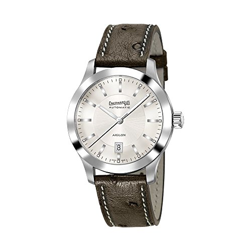 Watch Eberhard Aiglon Grande Taille Automatic Steel Leather 41030 S CP
