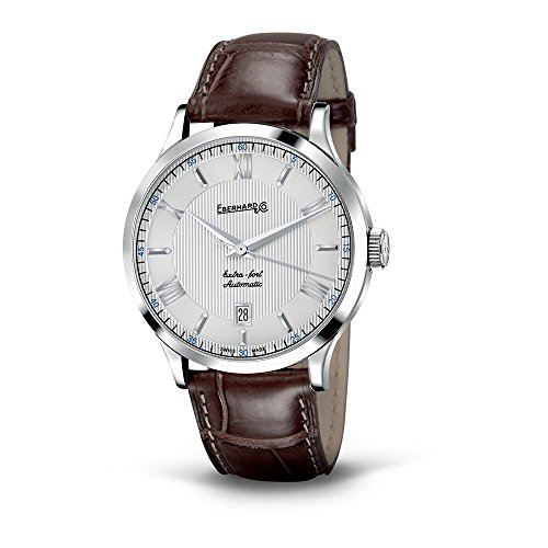 Watch Eberhard Extra Fort Automatic Time only Leather Crocodile 41029 5 CP