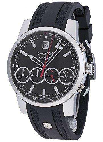 Eberhard Co Chrono 4 Grand Taille Automatik Chronograph 31052 2 CU