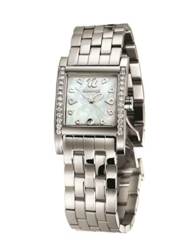 Watch Eberhard Woman Gingi Date Steel Diamonds 61007 BR