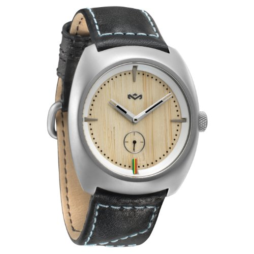 House of Marley Unisex Armbanduhr Analog Quarz Leder WM FA001 IO