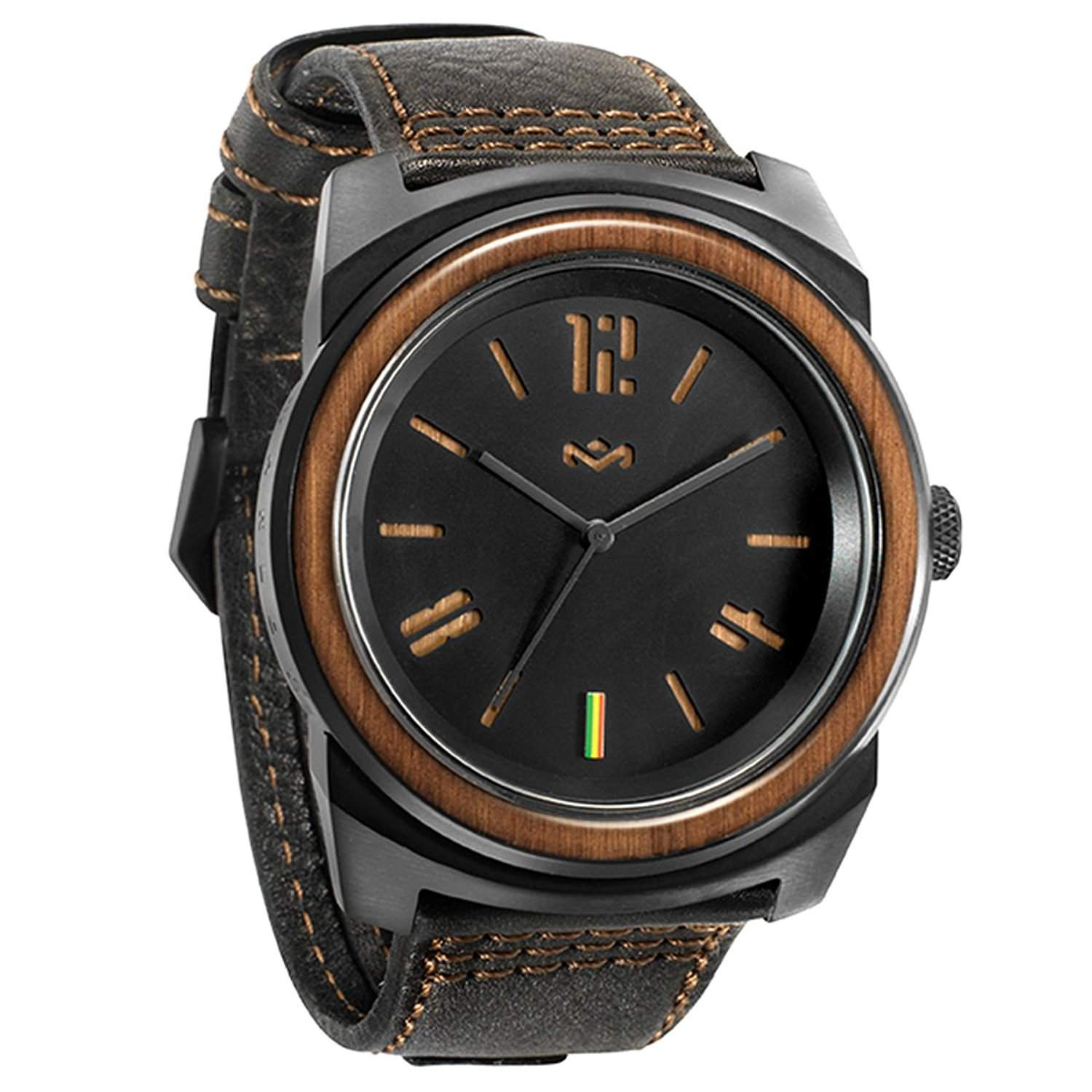 Marley Capsule Leather Watch - Midnight
