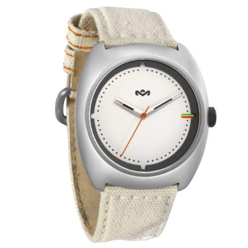 House of Marley Unisex-Armbanduhr Analog Quarz WM-JA001-DB Transport DUBWISE